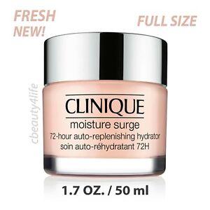 Clinique Moisture Surge 72 Hour Auto Replenishing Hydrator 1.7 oz NEW FRESH!
