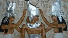 RELIEF SILBER PHARAO ÄGYPTISCHES RELIEFS ÄGYPTEN SKULPTUR WANDRELIEF BILD ANTIK
