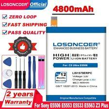 LOSONCOER 4800mAh LIS1579ERPC Battery For Sony Xperia C5 Ultra / Dual E5506 E555