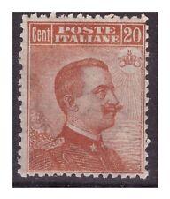 REGNO 1917 - MICHETTI  Cent.  20  arancio  NUOVO **