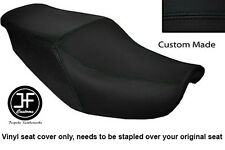 BLACK AUTOMOTIVE VINYL CUSTOM FITS HONDA CBR 1000 F 87-88 DUAL SEAT COVER ONLY