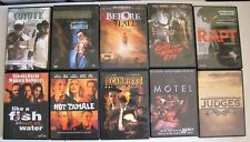 Lot of 10 DVD Saboteur, Before The Fall, Rapt, Motel, Judges, Carnies Hot Tamale