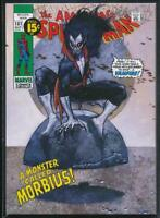 2018 Marvel Masterpieces What If? Trading Card #WI-27 Morbius /1499