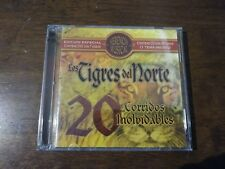 Herencia Musical: 20 Corridos Inolvidables by Los Tigres del Norte (CD, Jul-200…