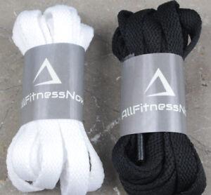 Flat Lace Shoelaces Trainer Shoe Laces School Converse Style Skateboard lace