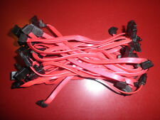 "LOT 29X 7"" SFF Slimline Right End to Straight End SATA Cable"