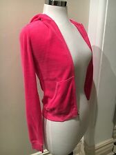 Brand New JUICY COUTURE Watermelon Velor Zip Hoodie Size P XS