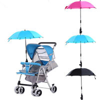 Baby Stroller Wheelchair Pushchair Umbrella Sun Parasol UV Rain Canopy Cover  bc