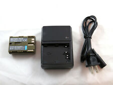 Charger CB-5L and Battery BP-511 for Canon EOS 300D, D30, D60, Rebel Camera