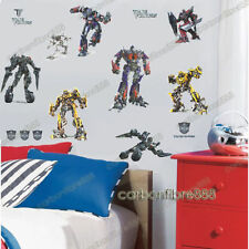 Lovely Transformers Wall Stickers Peel & Stick Boys Kids Childrens Room Decal