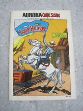Aurora Comic Scenes LONE RANGER Instruction Booklet 188-140 (V11)