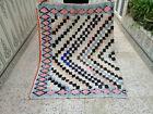 Vintage Handmade Moroccan Rug Berber Azilal Rug Beni Ourain Tribal Carpet