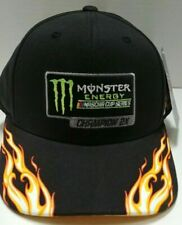 Kyle Busch Monster Energy 2019 2X Champion Flame Hat