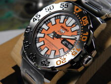 Seiko SNZF49 Automatic Mechanical  Baby Orange Monster Watch New