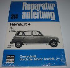 Reparaturanleitung Renault Renault R4 / R 4 / 4 L / 4 TL / Safari / Export NEU!