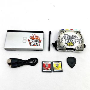 Nintendo DS Lite Guitar Hero Version Bundle with Game Pak/Games/Charger