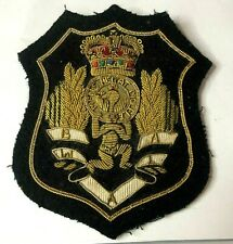 More details for  1950's british amateur weightlifters association bullion wire blazer badge