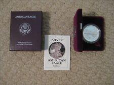 1991 American Eagle 1 oz. Proof Silver Dollar Bullion Coin-MIB with COA