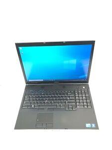 """Dell Precision M6500 17"""" Core i7 740QM 1.73GHz 16GB RAM 512GB SSD Win 10 Pro"""