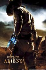 COWBOYS AND ALIENS ~ JAKE DESERT 24x36 MOVIE POSTER Daniel Craig NEW/ROLLED!