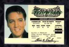 Elvis Presley Novelty Souvenir Tennessee Driver License  FREE USA SHIPPING