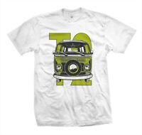 T-Shirt T2 | Slammed Vanlife Surf VW Bus Van Skater Surf Kustom Aircooled Boxer