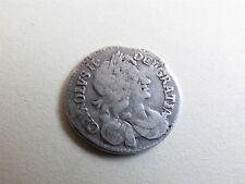 Charles II Fourpence/ Groat 1682/1 Silver (myrefn9726)