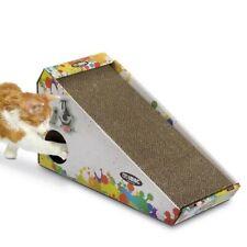 Tiragraffi per gatti, con Catnip in cartone riciclabile IMAC Isidoro 48x27x20 cm