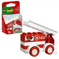 Lego Duplo Fire Truck First Lego Set Educational Preschool Building Toy