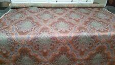 "Valdese weavers patt #8926 jacquard floral damask drapery fabric 53"" 2yds"
