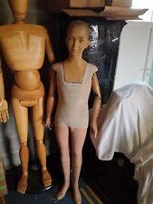 Antique 1920 art deco boy mannequin articulated French Paris P Imans RARE !