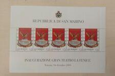 San Marino foglietto Fenice