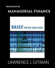 Principles of Managerial Finance, Brief (5th Edition)-ExLibrary