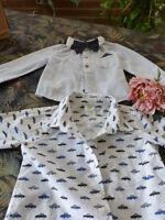 lot 2adorables chemises pour bébé ou gros poupon