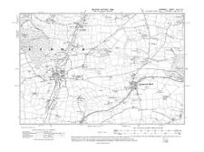 Old map of Ladock, Grampound Road, New Mills 1908 - Cornwall, repro Corn-49-SE