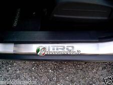 battitacchi in acciaio inox personalizzati Dodge NITRO.
