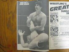 1978 Wrestling Yearbook (JERRY  BRISCO/HARLEY RACE/KILLER  KARL COX/STEVE KEIRN)