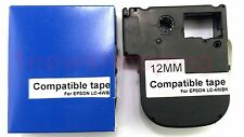 Compatible Epson K-Sun LabelWorks Tape LC-4WBN9 LW-300 LW-400 LW-500 LW-700