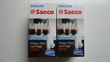 2 x ORIGINAL  SAECO Wasserfilter  INTENZA+  von  BRITA  Nr. CA 6702/00