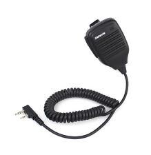 2 PIN Hand PTT-Lautsprecher Mic für Walkie-talkie TYT BAOFENG Retevis H777 Radio