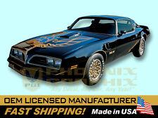 1976 1977 1978 Pontiac Firebird Trans Am Spécial Édition Bandit Stickers &