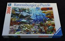 Ravensburger jigsaw puzzle 3000 pieces Oceanic Wonders - Two Missing Pieces