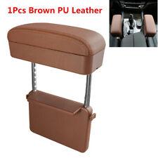 Retractable Car Seat Central Console Armrest Box PU Storage Case Accessories