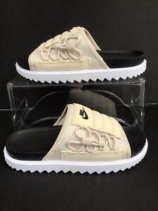 Nike Asuna Slide NA Desert Sand/Black-White Mns.Sz.7=Wmns.Sz.8.5 (CW9703-009)