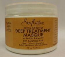 Shea Moisture Raw Shea Butter Deep Treatment Masque with Argan Oil 12 oz