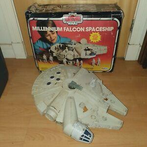 Vintage Star Wars Action Figures MILLENNIUM FALCON Boxed ESB Palitoy Millenium