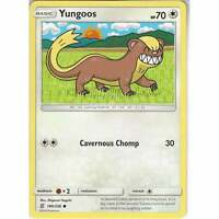 180/236 Yungoos | Common Card | Pokemon Trading Card Game SM11 Unified Minds TCG