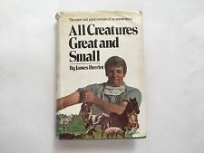 JAMES HERRIOT 1st in dj ALL CREATURES GREAT AND SMALL 1972
