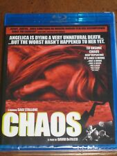 CHAOS (2005) (Blu-Ray) CODE RED / DARK FORCE - SAGE STALLONE - BRAND NEW!!!