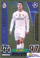 2016 Topps Match Attax Champions League EXCLUSIVE Cristiano Ronaldo LE GOLD!!